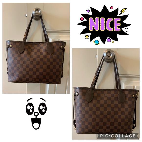 Louis Vuitton Handbags - Louis Vuitton Neverfull Damier PM